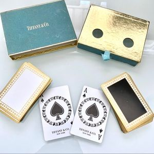 Vintage Tiffany & Co. playing cards set ♠️